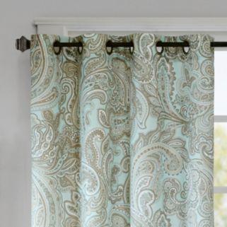 Madison Park Pure Dermot Paisley Window Curtain