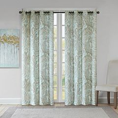 Madison Park 1-Panel Pure Dermot Paisley Window Curtain
