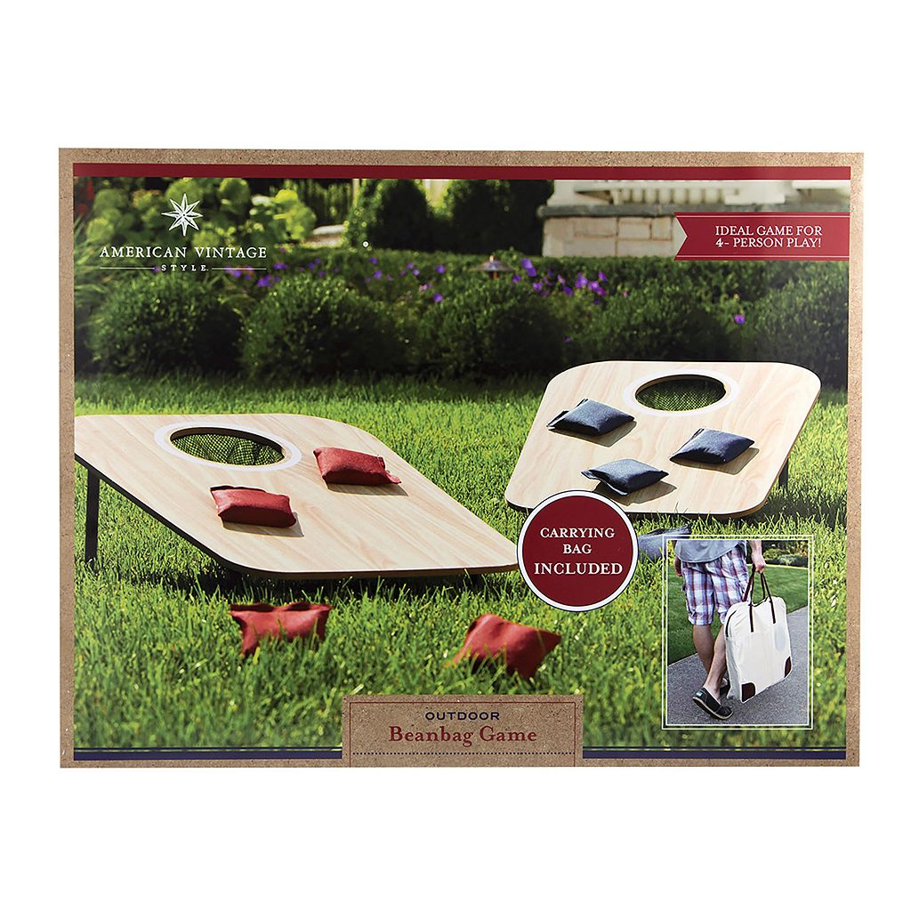 American Vintage Outdoor Bean Bag Game