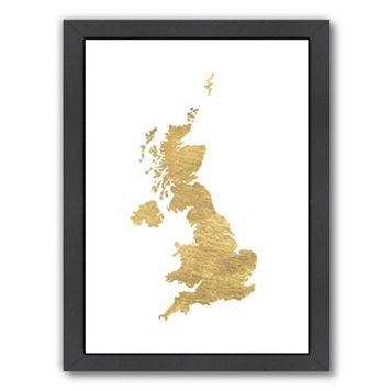 Americanflat United Kingdom Framed Wall Art