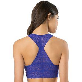 SO® Lace Racerback Bralette