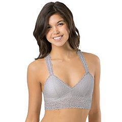 Juniors' SO® Bras: Lace Racerback Bralette
