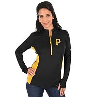 Plus Size Majestic Pittsburgh Pirates 1/2-Zip Pullover