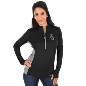 Plus Size Majestic Chicago White Sox 1/2-Zip Pullover