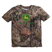 Toddler Boy John Deere Camouflaged Logo Tee