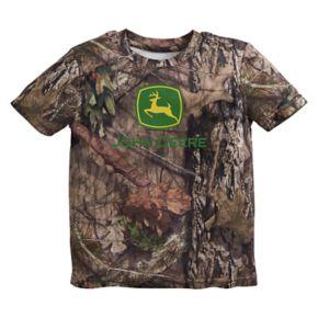 Toddler Boy John Deere Camouflaged Logo Tee