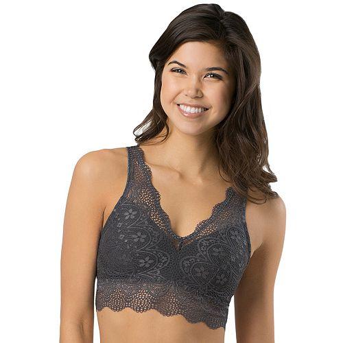 SO® Bras: Lace Plunge Bralette