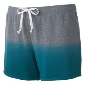 Juniors' Plus Size SO® Ombre French Terry Lounge Shorts