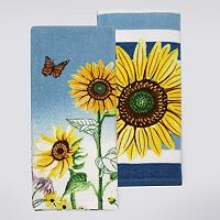 Celebrate Fall Together Wildflowers Kitchen Towel 2-pk.