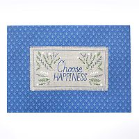 Celebrate Fall Together Choose Happiness Placemat