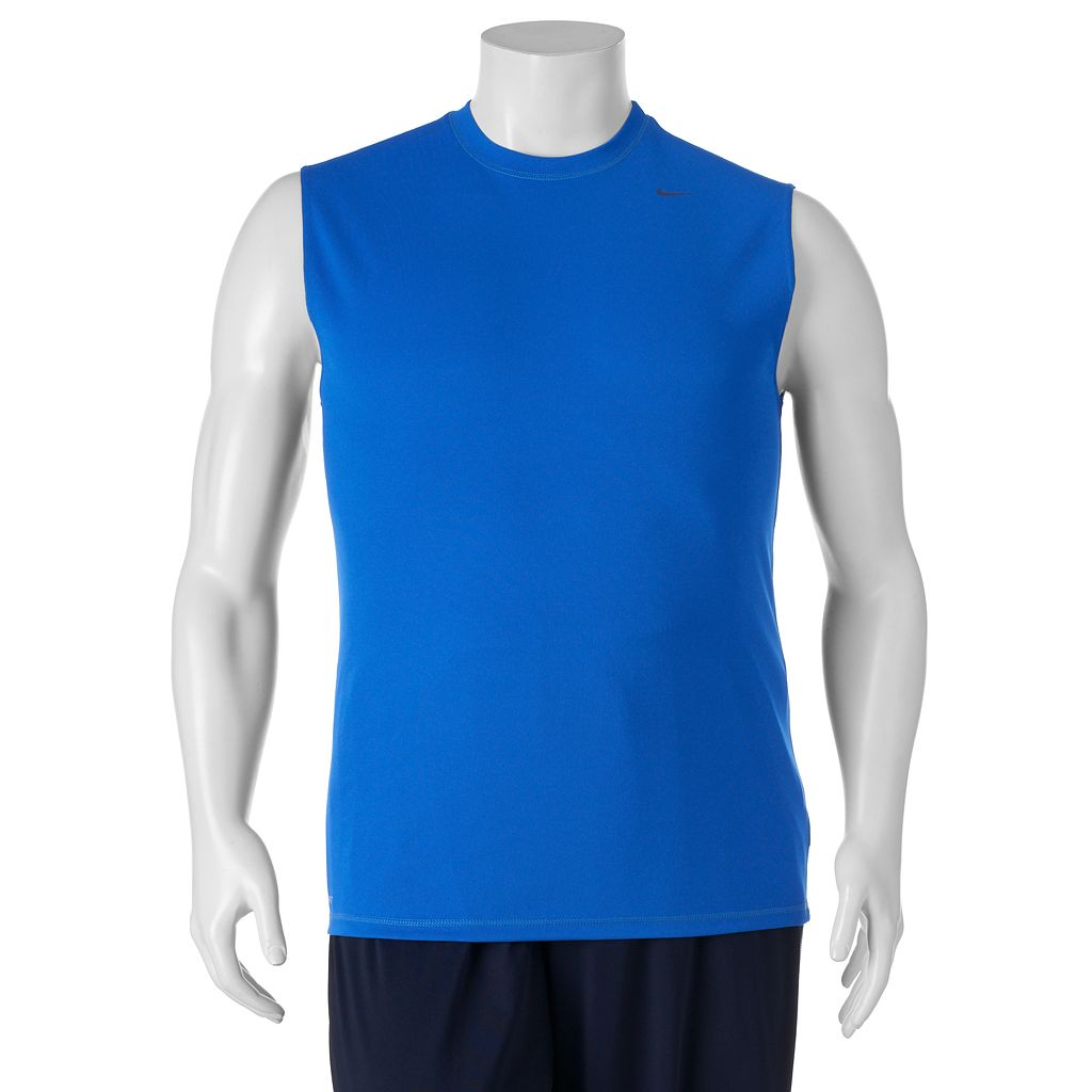 Big & Tall Nike Dri-FIT Hydro Sleeveless Tee