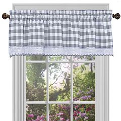 Achim Buffalo Check Window Valance
