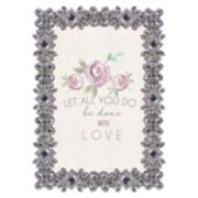 "Belle Maison 4"" x 6"" Luxe Jeweled Frame"