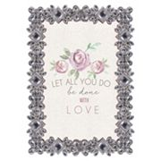 Belle Maison 4' x 6' Luxe Jeweled Frame