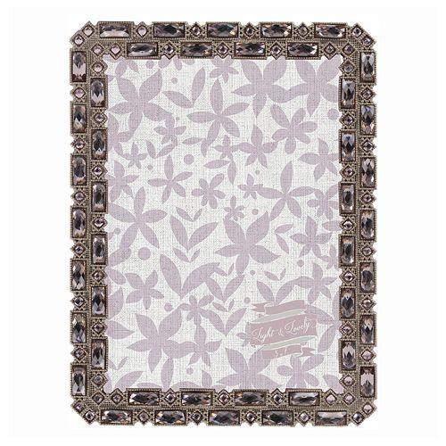 "Belle Maison Luxe Jeweled 5"" x 7"" Frame"