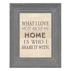 Belle Maison Luxe Distressed Gray 5' x 7' Frame