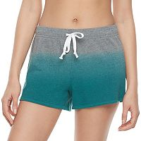 Juniors' SO® French Terry Dip-Dye Shorts