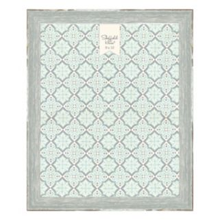 """Belle Maison Luxe Distressed Gray 8"""" x 10"""" Frame"""