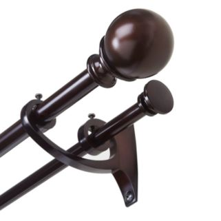 Umbra Diverge Adjustable Double Curtain Rod