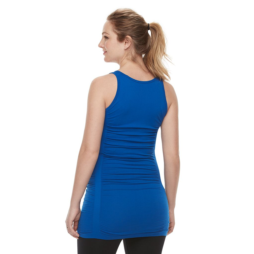 Maternity a:glow Ruched Workout Tank