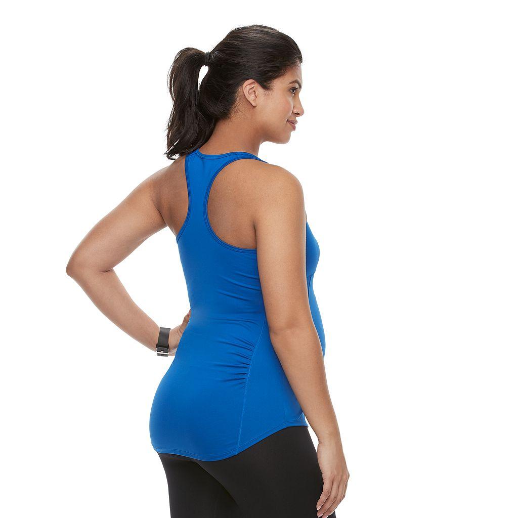 Maternity a:glow Racerback Workout Tank