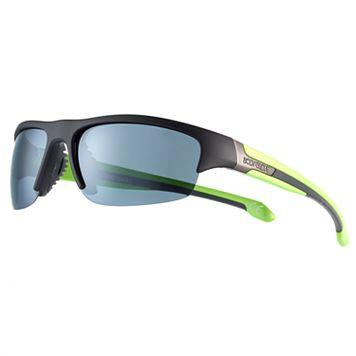 Men's Body Glove Polarized Semirimless Sport Wrap Sunglasses