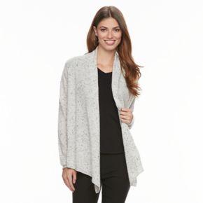 Women's Apt. 9® Cashmere Flyaway Cardigan