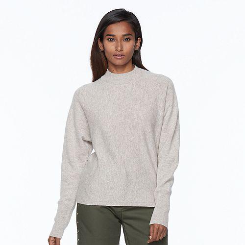 Apt. 9® Mockneck Cashmere Sweater