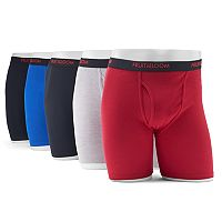 Men's Fruit of the Loom Signature 5-pack Dri-Stretch Boxer Briefs