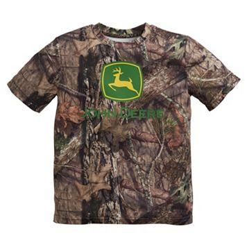 Boys 4-7 John Deere Forest Camouflage Logo Tee