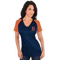 Plus Size Majestic Detroit Tigers League Diva Tee