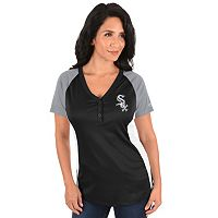Plus Size Majestic Chicago White Sox League Diva Tee