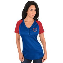 Plus Size Majestic Chicago Cubs League Diva Tee
