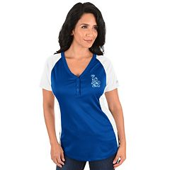 Plus Size Majestic Los Angeles Dodgers League Diva Tee