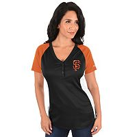 Plus Size Majestic San Francisco Giants League Diva Tee