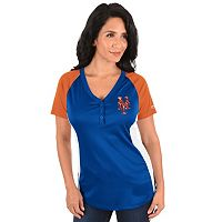 Plus Size Majestic New York Mets League Diva Tee