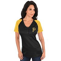Plus Size Majestic Pittsburgh Pirates League Diva Tee
