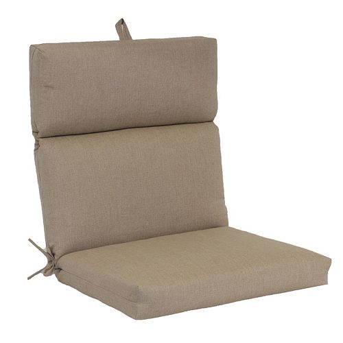SONOMA Goods for Life™ Indoor Outdoor Reversible Chair Cushion - Patio Chair Pads & Cushions - Decorative Pillows & Chair Pads