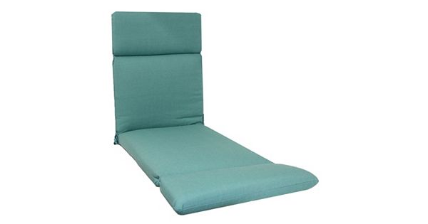 Sonoma goods for life indoor outdoor reversible chaise for Aqua chaise lounge cushions
