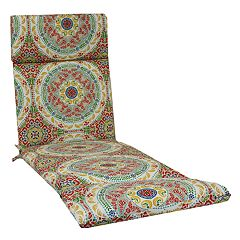 Sonoma Goods For Life Indoor Outdoor Reversible Chaise Lounge Cushion