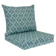 Blue Outdoor Chair Pads Cushions Home Decor Kohl S