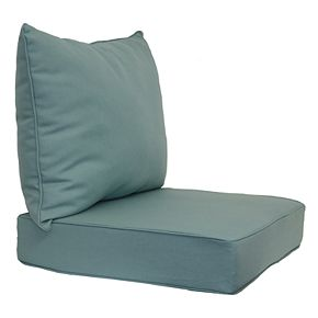 SONOMA Goods for Life? 2-piece Indoor Outdoor Reversible Deep Seat Cushion Set
