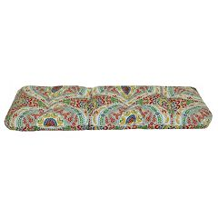 SONOMA Goods for Life™ Indoor Outdoor Reversible Double ''U'' Love Seat Cushion
