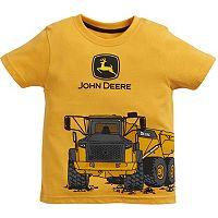 Baby Boy John Deere Dump Truck Graphic Tee