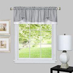 Achim Darcy Layered Window Valance