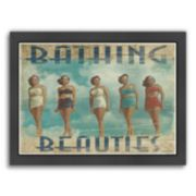 "Americanflat ""Bathing Beauties"" Framed Wall Art"