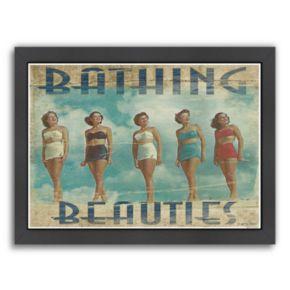 "Americanflat ""Bathing Beauties"" Framed Wall Art"