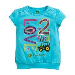 Girls 4-6x John Deere 'Love 2 Farm' Graphic Tee