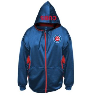Big & Tall Majestic Chicago Cubs Fleece Full-Zip Hoodie