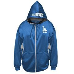 Big & Tall Majestic Los Angeles Dodgers Fleece Full-Zip Hoodie